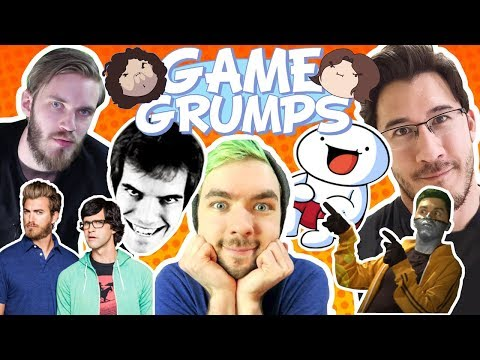 Game Grumps mention other Youtubers compilation [Youtubers B