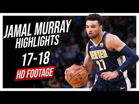 Nuggets PG Jamal Murray 2017-2018 Season Highlights ᴴᴰ