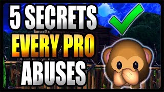 Every PRO Abuses These 5 Secrets in Fortnite