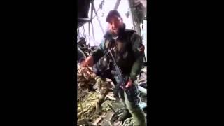 Война видео Украина Донбасс  2015  РЕДКИЕ кадры Кадыровцы против киборгов в аэропорту Донецка 17 01