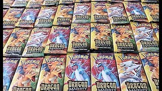 Opening A Dragon Majesty Booster Box Part 1