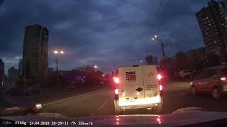 Відеореєстратор Gazer F735g: зйомка в темний час доби