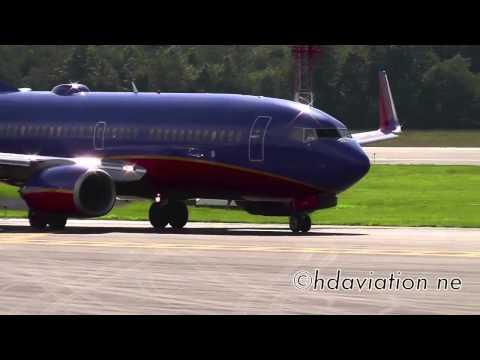 Southwest 737-700 - Takeoff Bradley International Airport
