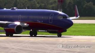 Southwest 737-700 - Takeoff Bradley International Airport