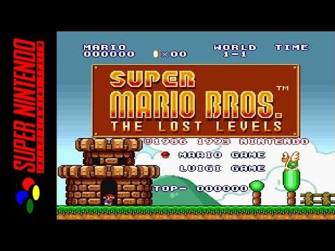 [LONGPLAY] SNES - Super Mario All-Stars - Super Mario Bros - The Lost Levels [Mario] (HD, 60FPS)