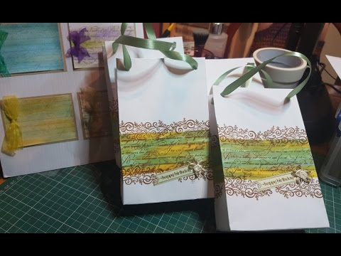 Party Bags from Envelopes Tutorial