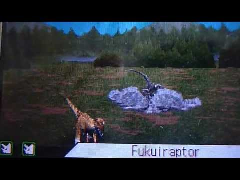 Dinosaur king ds Fukuiraptor