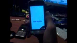 видео Nokia 5230 ошибка при самотестирования телефона