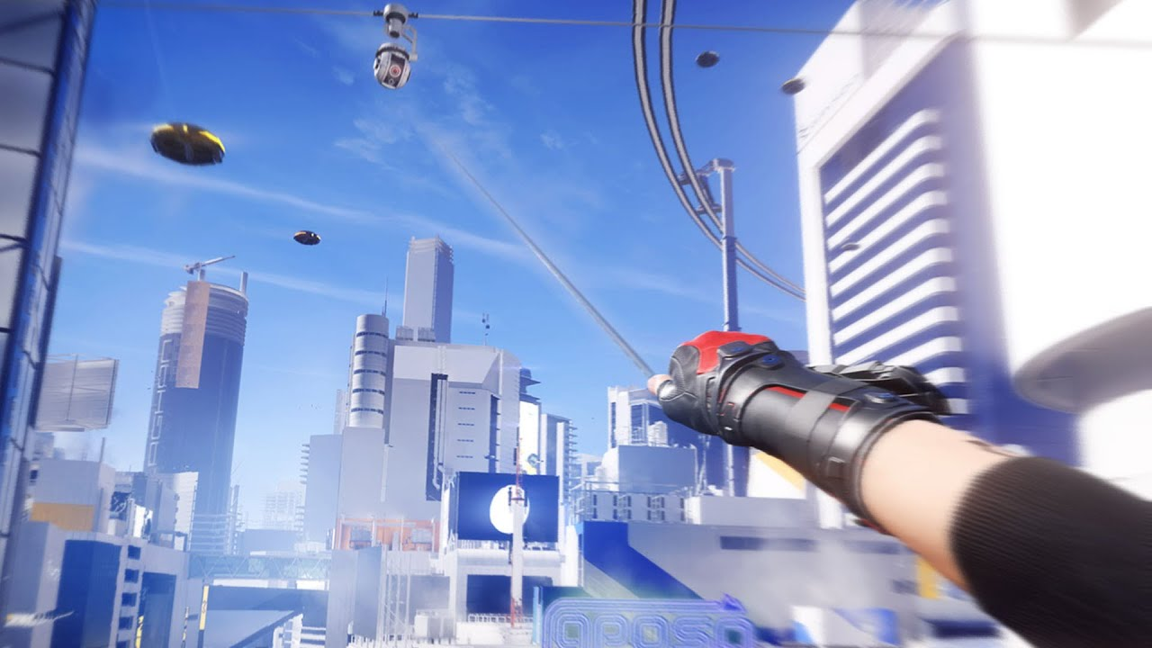 Mirror's Edge Catalyst - Free Running | Free Roam Gameplay (PC HD)  [1080p60FPS] - YouTube
