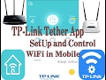 TP Link Tether App  SetUp and Control WiFi in Mobile