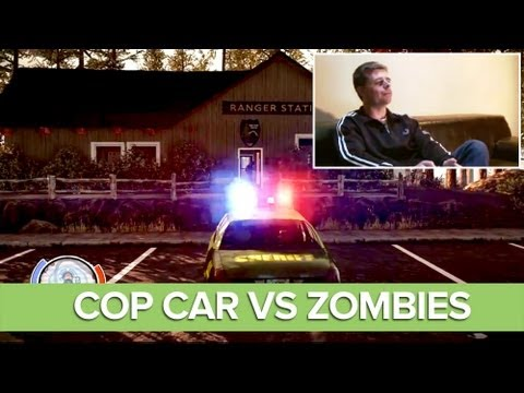 State of Decay Diaries: Police Car vs Zombies - State of Decay Xbox 360 Gameplay