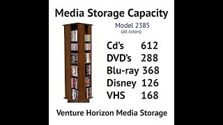 Venture Horizon Revolving Media Tower Customers Review