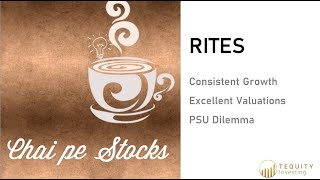 Chai Pe Stocks - RITES Ltd