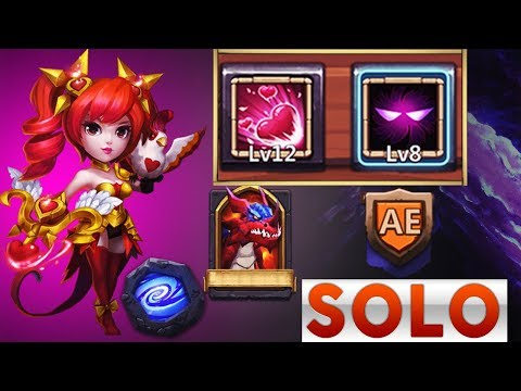 Dove Keeper | 8/8 UNHOLY PACT | EMPOWER 6 | Tries HBM AE Solo | CASTLE CLASH