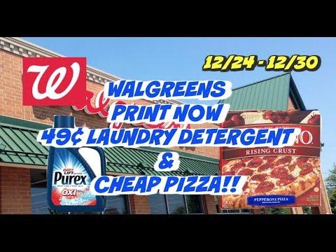 HOT WALGREENS DEALS 12/24 - 12/30 | 49¢ DETERGENT