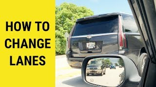 How To Change Lanes While Driving /How to drive/Changing lanes/CAR