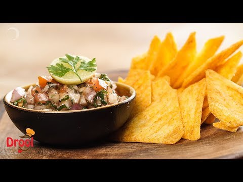 Tomato Salsa Dip | टोमेटो सालसा