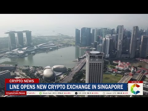 Line Opens New Crypto Exchange in Singapore
