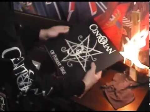 "CENTURIAN Vinyl Presentation: ""Of Purest Fire & Choronzonic Chaos Gods"" Hells Headbangers"