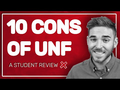 10 Drawbacks Of UNF | One Student's Personal Perspective