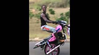 Tokyo bike stunt