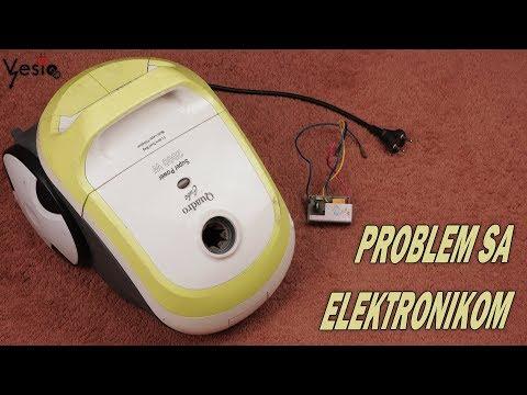 Kako popraviti usisivac ( problem sa elektronikom )