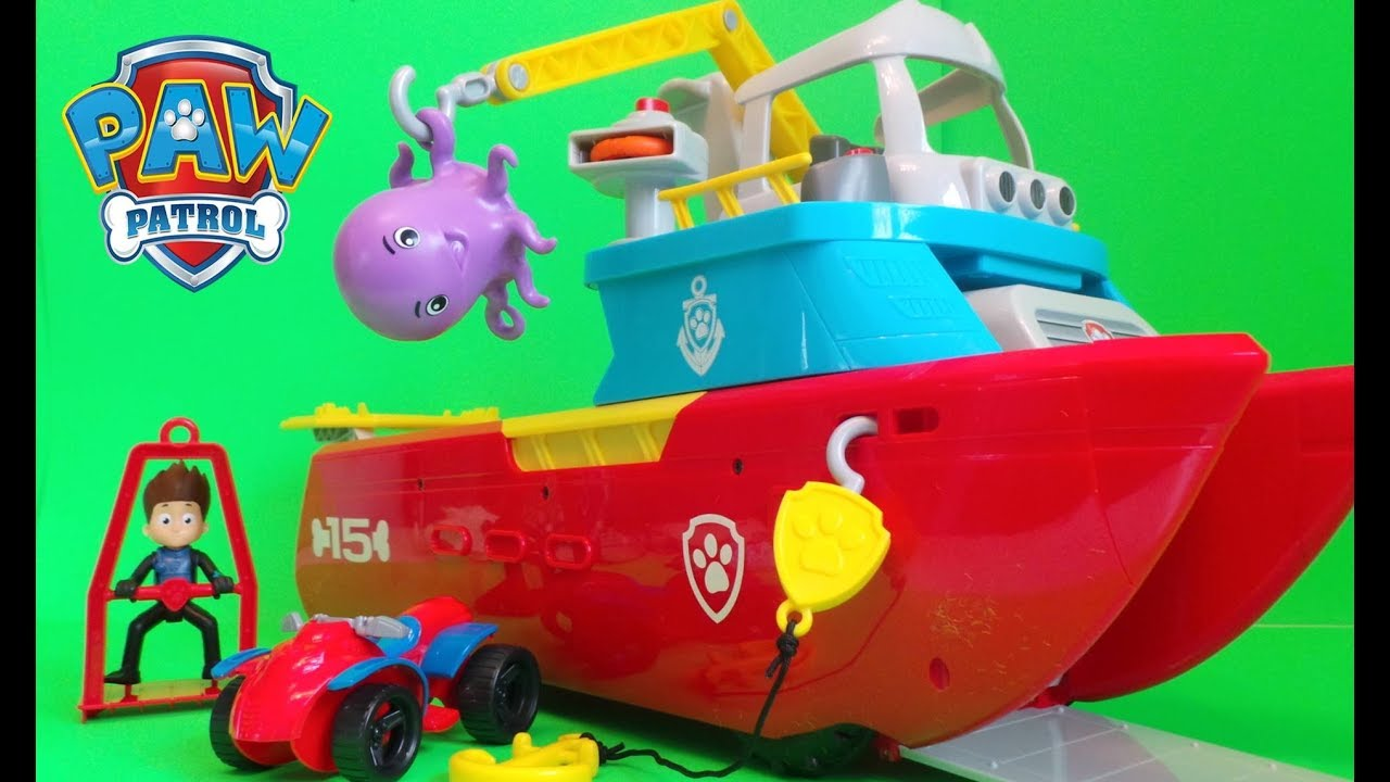 Sea Patroller Paw Patrol Pups Save A Baby Octopus With