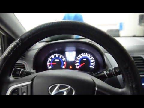 Против угона Hyundai Solaris обзор противоугонного комплекса