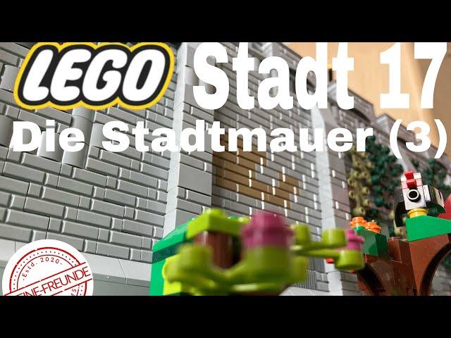 Lego Stadt Update 17/ Die Stadtmauer (3)