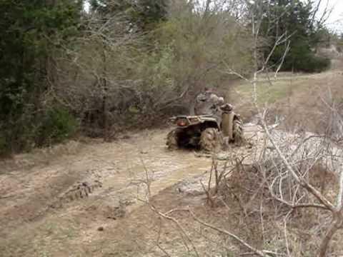 The Louisiana Boys Mudriding at Lake Murry Part 1