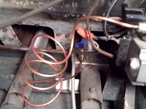 Furnace Pilot Light (fix) replace $10 thermocouple - watch this on