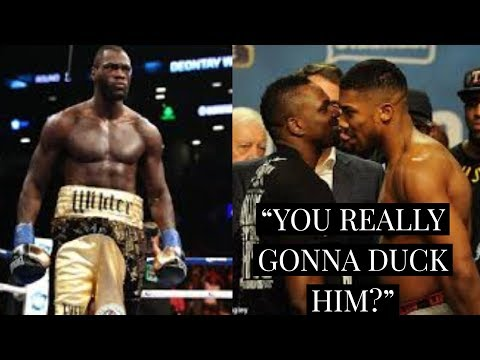 """(WOW!) HEARN SAYS ANTHONY JOSHUA WANTS WHYTE NOT DEONTAY WILDER    TOO EARLY TO CALL """"C0WARD""""?"""