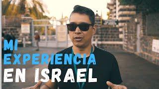 Testimonios de Luis Morales de Miel San Marcos de su viaje a Israel dentro del marco de Israel Adora
