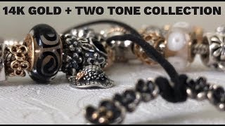 My 14k Gold And Two Tone Pandora Collection | 2018