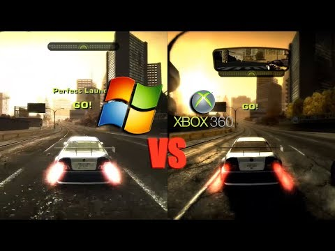 Need For Speed: Most Wanted ► PC Vs XBox 360 - Теней нет, но Вы держитесь :D