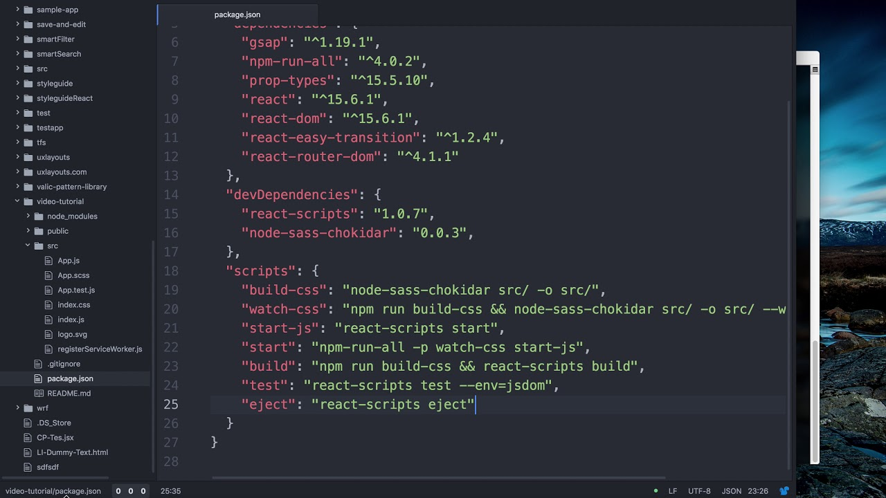 Basic react starter tutorial in es6 5 setting up scss in create basic react starter tutorial in es6 5 setting up scss in create react app malvernweather Gallery