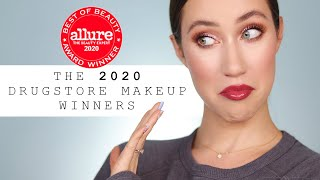 TRYING THE DRUGSTORE ALLURE 2020 WINNERS!!!