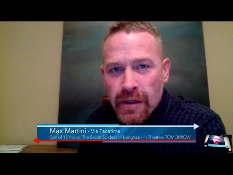 Max Martini, Star of 13Hours: The Secret Soldiers of Benghazi