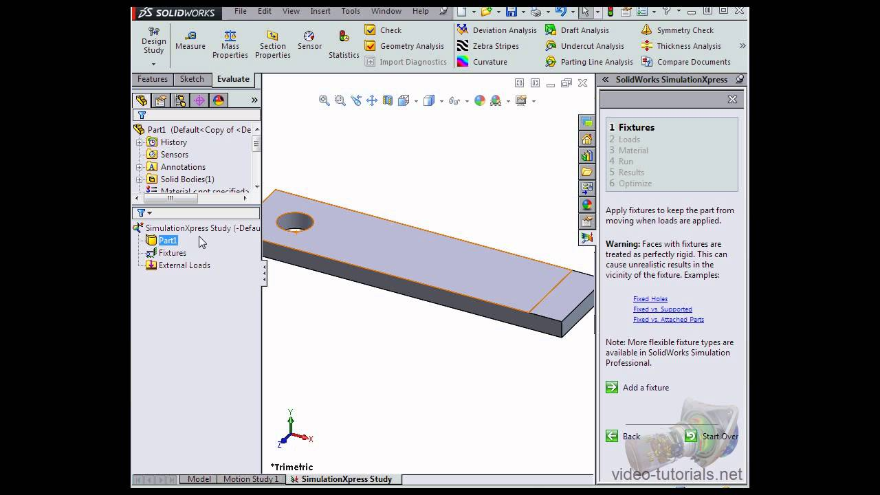 Solidworks Simulationxpress Tutorial Pdf Electronic Circuits 2 By Salivahanan