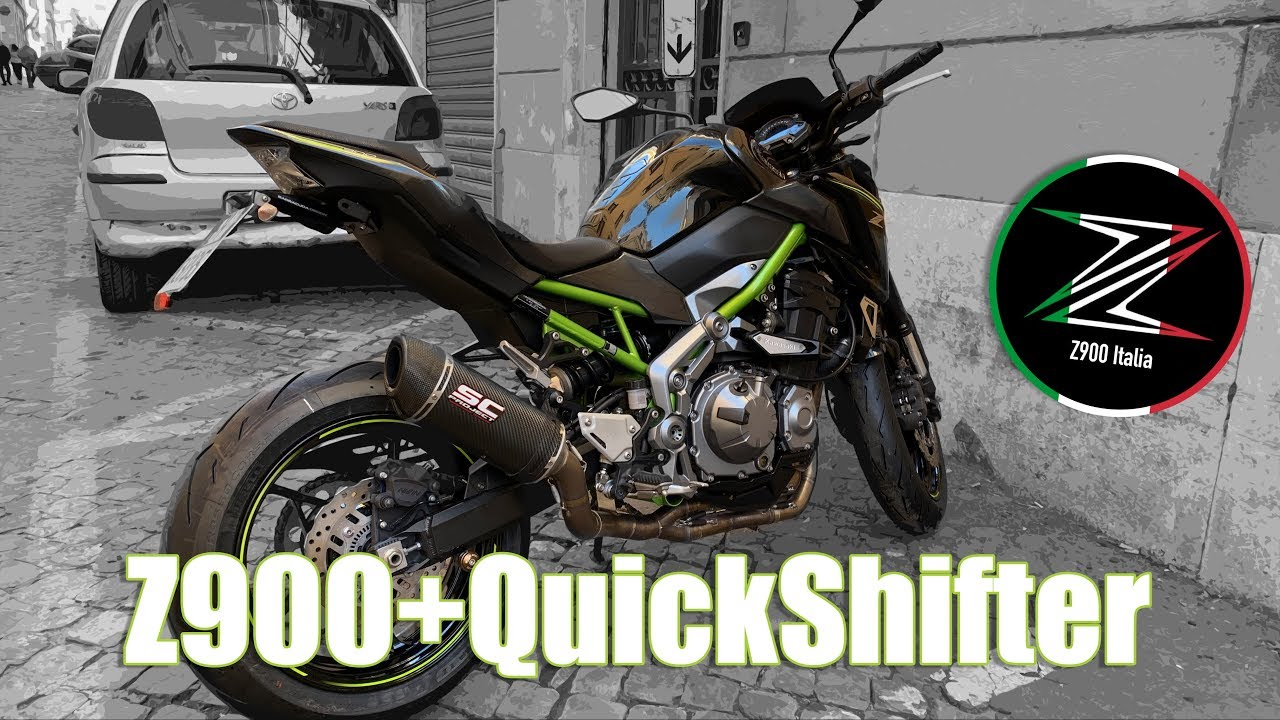 Z900 + Quickshifter RapidBike - Review