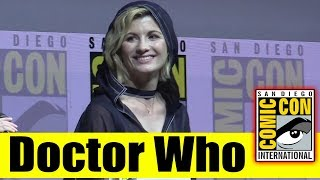 DOCTOR WHO | Comic Con 2018 Panel (Jodie Whittaker, Mandip Gill, Tosin Cole)
