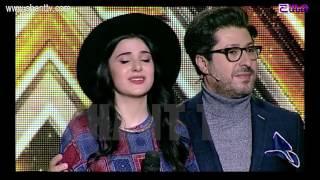 X Factor4 Armenia 4 Chair Challenge Girls Mane Baghdasaryan Bruno Mars–Grenade 22 01 2017