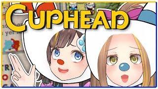【CUPHEAD】アヤミナもシューティングゲーム!!