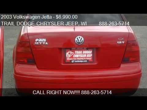 2003 Volkswagen Jetta 4dr Sdn GL Turbo Auto w/Tiptronic - fo