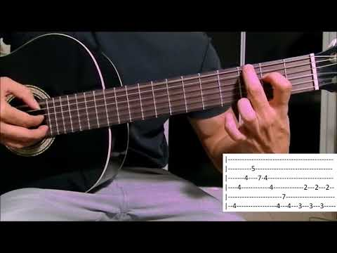 Tema La Casa de Papel (Fingerstyle) Aula Violão Cecilia Krull - My Life is going on (como tocar)