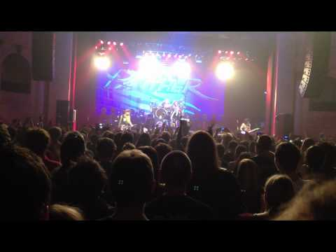 Steel Panther Fan Gets up and nails Van Halens Hot for Teacher with Band. Adelaide Thebarton Theatre