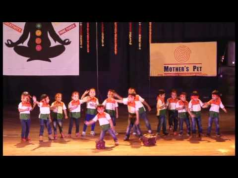 Patriotic dance by Little Kids