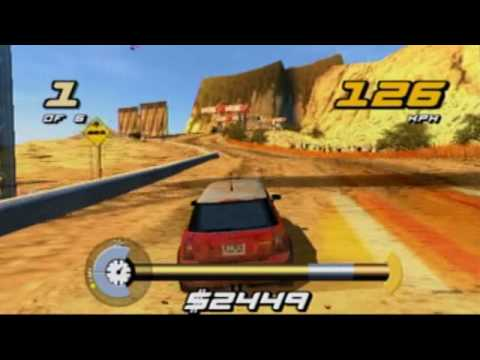 PS2 - SHOX - Mini Cooper - Gameplay