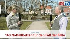 Bad Bramstedt: 140 Notfallbetten für den Fall der Fälle