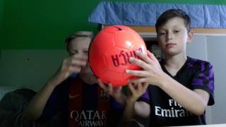 Обзор мячей (Real Madrid )и (Barcelona )